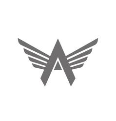 Letter A Logo Concept Icon vector