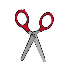 Scissors tool icon vector