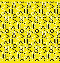 Seamless primitive geometric surface design vector