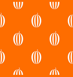 Striped melon pattern seamless vector