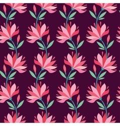 Stylish flower pattern vector