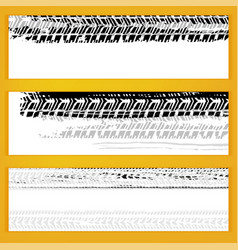 tire banners vector image