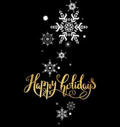 Very merry christmas card vector