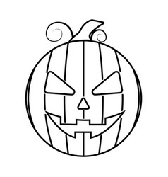 Abstract halloween object vector