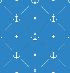 Anchor Seamless Pattern flat design vector image