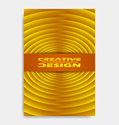 cover design template for decoration presentation vector image
