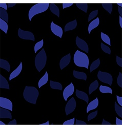 dark herb pattern vector image