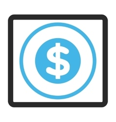 Finance Framed Icon vector image