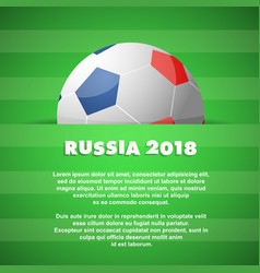 football theme with copy space on backdrop vector image