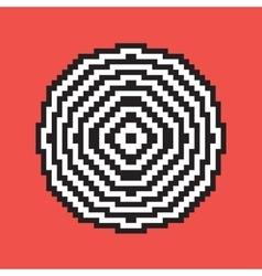 Pixel art target vector