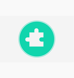 puzzle icon sign symbol vector image