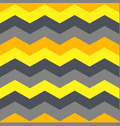 seamless pattern with geometric waves vector image