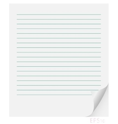 Sheet of paper in line with the curl vector