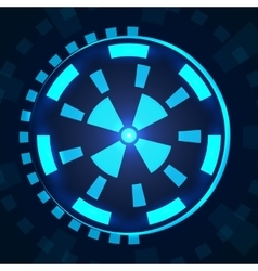 Sci fi futuristic user interface hud vector