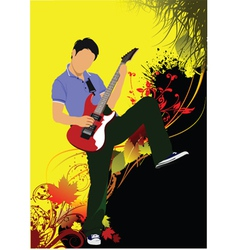 rockstar vector image vector image