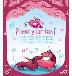 taxi love vector image vector image