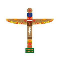 totem vector image