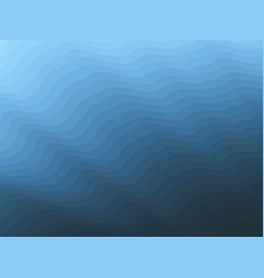 blend-wave-blue vector image