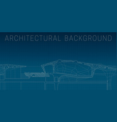 blueprint2 vector image