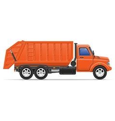 cargo truck 17 vector image