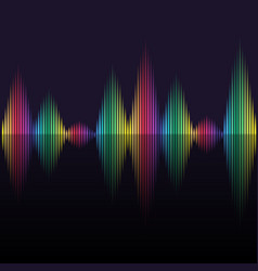 color equalizer background vector image