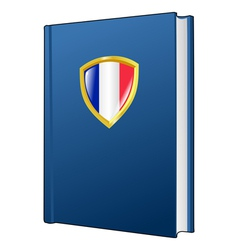 Constitution of france vector