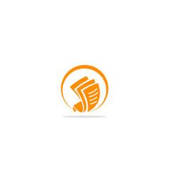 Document write logo vector