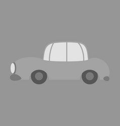 icon in a flat style car vector image