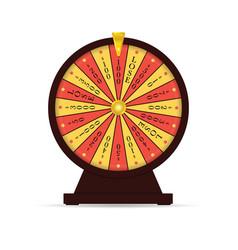 Wheel fortune vector