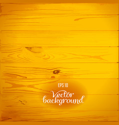 wood plank yellow background vector image