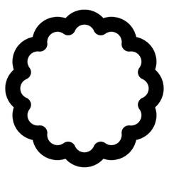 Token stroke icon vector