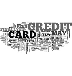 Apply for a credit card online the safe way text vector