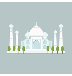 Cathedral churche temple building vector image vector image