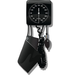 Sphygmometer vector image