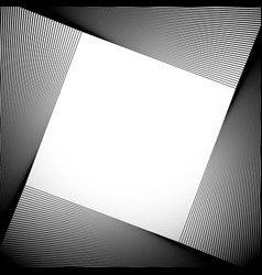 Abstract background with tilted squares blended vector