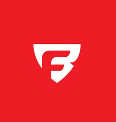 Bf or fb monogram vector