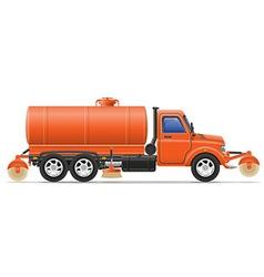 Cargo truck 18 vector