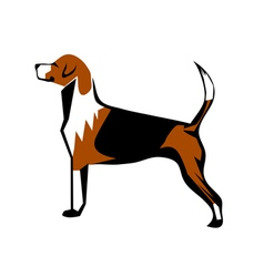 Fox hound vector