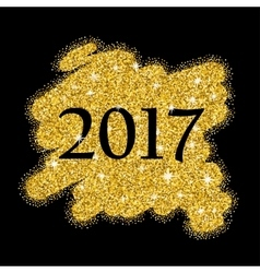 Gold glitter sale background for poster abstract vector