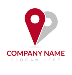 love place company group logo concept idea vector image