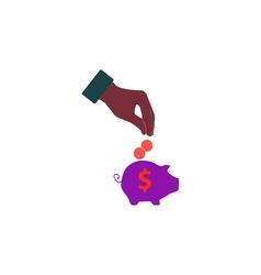 Moneybox Icon vector image