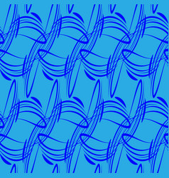 pattern of blue lines for backgrounds in vector image