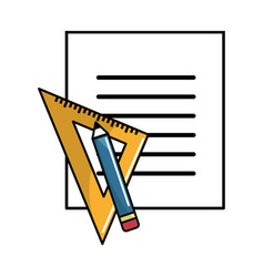 Peper blog with study tools vector