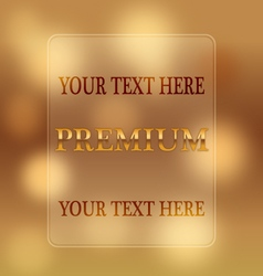 Premium frame vector