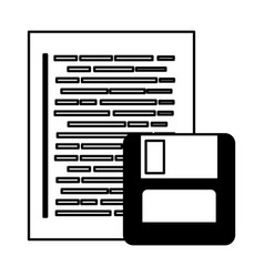 Program listing drive flash coding web development vector