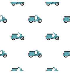 Scooted pattern flat vector