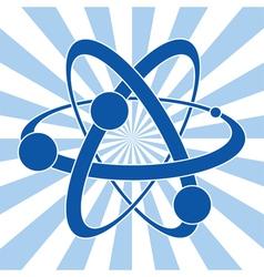 Symbol of atom vector