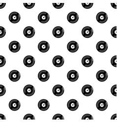 Vinyl record pattern seamless vector