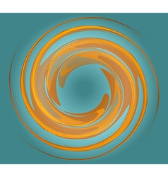 Whirlpool background vector image