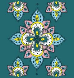 ethnic design vector image vector image